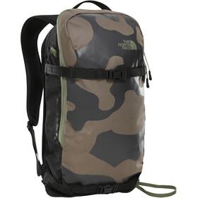 The North Face Slackpack 20 Mochila, weimaraner brown camo/tnf black